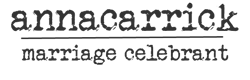 Anna Carrick Logo